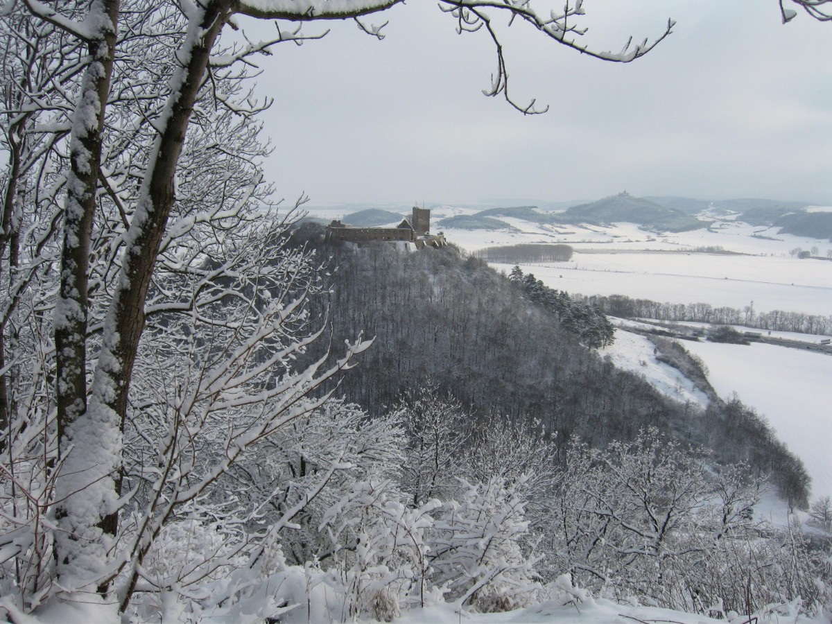 Burg Gleichen Winter